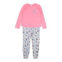 SANETTA Pyjama grau / pink