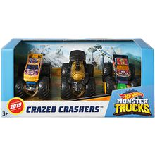 Hot Wheels Monster Trucks 1:64 Die-Cast 3er-Pack #1
