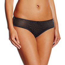 Triumph Damen String Body Make - Up Blossom Str (1PP76), Gr. 36, Schwarz (BLACK 04)