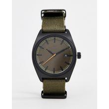 adidas - Z09 Process - Schwarze Uhr mit Canvas-Armband - Schwarz