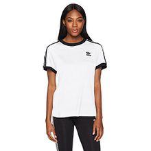 adidas Originals Damen T-Shirt - Weiß -