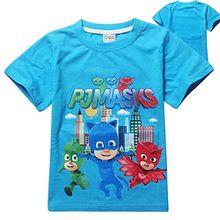 PJ MASKS Jungen T-Shirt, Figur blau blau, blau
