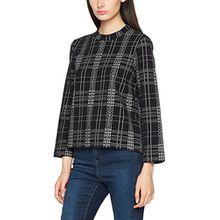 Drykorn Damen Pullover Imani D-Jersey, Schwarz (Schwarz 1019), Medium