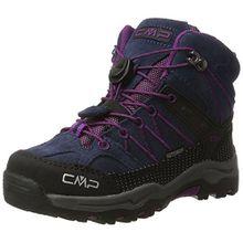 CMP Unisex-Kinder Rigel Mid WP Trekking-& Wanderstiefel, Blau (B.Blue-Purple), 30 EU
