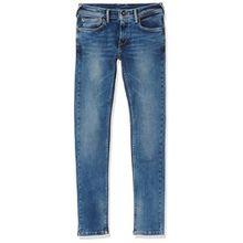 Pepe Jeans Jungen Finly Jeans, Blau (Denim), 8 Jahre
