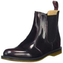 Dr. Martens FLORA Arcadia CHERRY RED, Damen Chelsea Boots, Rot (Cherry Red), 41 EU (7 Damen UK)