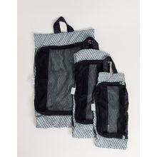 Kipling – Marineblaue Organiser-Taschen im 3er-Pack-Navy
