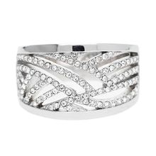 Esprit Ring mit Zirkonia-Steinbesatz ESRG02688A Ringe silber Damen