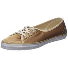 Lacoste Damen Ziane Chunky 118 2 Caw Sneaker, Gold (or Gld/WHT), 37 EU