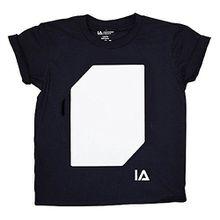 Im Dunkeln leuchtendes Unisex Kinder-T-Shirt Designs malen mit UV-Schlüsselring (9-11 years)