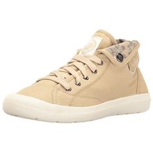 Palladium Damen Aventure Sneaker, Beige (Sahara/Marshmallow/Floral Print), 39.5 EU