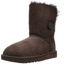 Ugg Australia Womens Bailey Button ll Brown Sheepskin Boots 40 EU