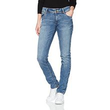 s.Oliver Damen Slim Jeans 04.899.71.4811, Blau (Blue Denim Stretch 53Z7), W46L34