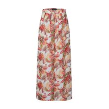 ONLY Hose 'onqCORRIE HW DRAPY PALAZZO PANTS WVN' rot