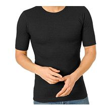 Kinder Thermo Unterhemd, Unisex, 1/2-Arm, kurzarm, 17072, Farbe:grau;Größe:152