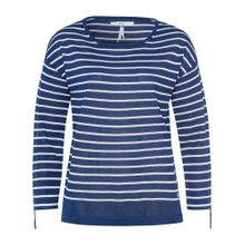 BRAX Pullover 'Lisa' blau / weiß