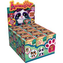 Animalost Serie 2 Wildtiere Display