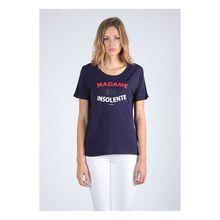 Kaporal T-Shirt Facto mit modischem Frontprint T-Shirts dunkelblau Damen