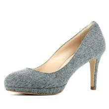 EVITA Damen Pumps BIANCA Klassische Pumps grau Damen