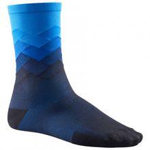 Mavic - Cosmic Graphic Sock - Radsocken Gr 35-38;39-42;43-46 rot/schwarz/lila;schwarz/grau;blau/schwarz