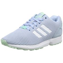 adidas Damen ZX Flux Sneakers, Blau (Clear Sky/FTWR White/Frozen Green F15), 38 EU