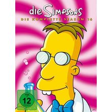 DVD »The Simpsons - Die komplette Season 16 (4 Discs)«