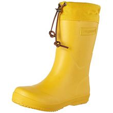 Bisgaard Unisex-Kinder Winter Thermo Gummistiefel, Gelb (80 Yellow), 33 EU
