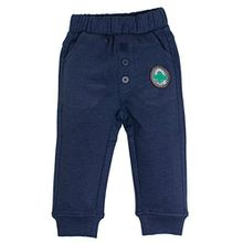 SALT AND PEPPER Baby-Jungen Jogginghose B Trousers Dino, Blau (Ink Blue Melange 481), 74