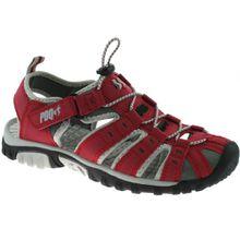 PDQ , Damen Sport- & Outdoor Sandalen Rot rot, Rot - rot - Größe: 5 UK