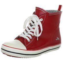 Viking Kicks, Mädchen Kurzschaft Gummistiefel, Rot (1001), 32 EU (13 Kinder UK)