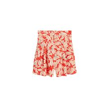 MANGO Shorts 'evitap' creme / rot