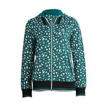 TAO Sportswear Damen Kapuzenjacke mit Zippverschluss PAW BLOUSON Outdoorjacken grün Damen
