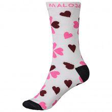 Maloja - Women's EnieM. - Multifunktionssocken Gr 36-38 schwarz;grau/rosa