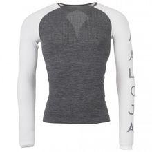 Maloja - BenedictM. Shirt - Kunstfaserunterwäsche Gr L-XXL;XS-M grau/schwarz