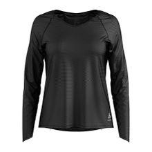 Odlo - Alma Natural BL Top Crew Neck Damen Trainingsshirt (schwarz) - L