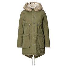 Noppies Damen Jacke Jacket Malin, Grün (Army C190), 40 (Herstellergröße: L)