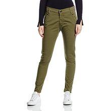 Replay Damen Slim Jeanshose Denice, Gr. W30, Grün (MILITARY GREEN 40)