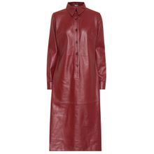 Hemdblusenkleid Paya aus Leder