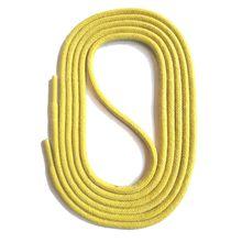 SNORS shoefriends Schnürsenkel rund gewachst 45-150cm, 3mm aus Baumwolle Schnürsenkel gelb