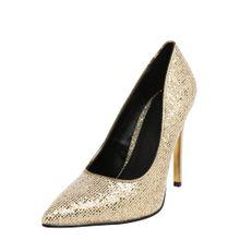 BUFFALO High Heels 'FEMI' gold