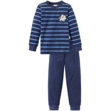 Schiesser Schlafanzug - Streifen und Hai