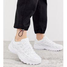 Nike - P-6000 - Komplett weiße Sneaker - Weiß