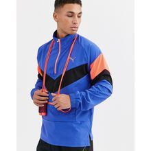 Puma - Training Reactive - Verstaubare Jacke in Blau - Blau