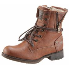 MUSTANG Shoes Winterstiefel braun / kastanienbraun / schwarz