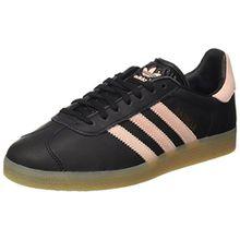 adidas Damen Gazelle Sneakers, Schwarz (Core Black/Vapour Pink/Gum), 40 2/3 EU