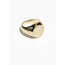 Signet Pinky Ring - Gold