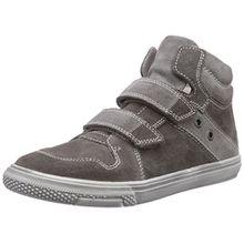 Richter Kinderschuhe Mose 6247-521, Jungen Hohe Sneakers, Grau (pebble/rock 6611), 33 EU