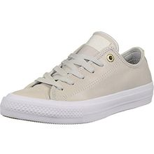 adidas Damen Chuck Taylor All Star II Craft OX Basketballschuhe, Beige (Buff/White Buff/Buff/White), 37.5 EU