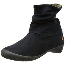 Softinos Damen Fon392Sof Chukka Boots, Blau (Navy 002), 41 EU
