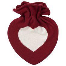 Herzensangelegenheit Wärmflasche - Rot (Unisize)